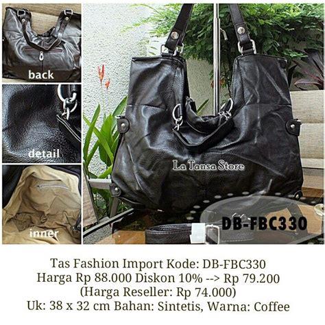 tas fashion import kode db fbc330 harga rp 88 000 diskon