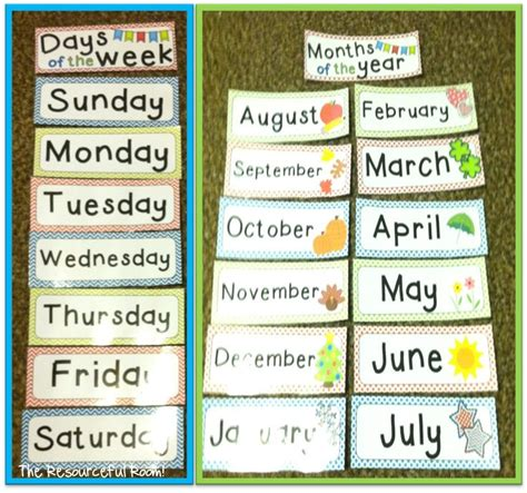 printable calendar classroom 47 best images about calendar activities for kids on