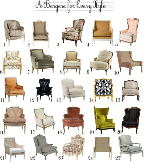 types of design styles a bergere chair for every style the anatomy of design