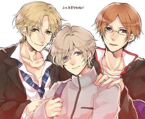 hikaru brothers brothers conflict anime otome game young kaname hikaru