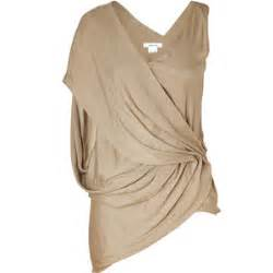 Draped In Helmut Lang Frosted Gold Draped Top Polyvore