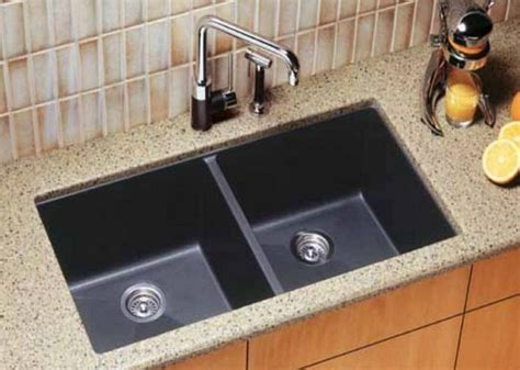 black faucet with stainless steel sink kitchen sink designs with awesome and functional faucet