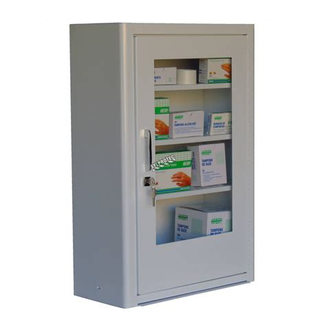 wall mounted first aid cabinet empty wall mounted metal first aid cabinet with clear panel door
