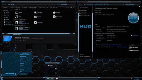 tech themes for windows 10 hud for windows 10 creators fall creators update by