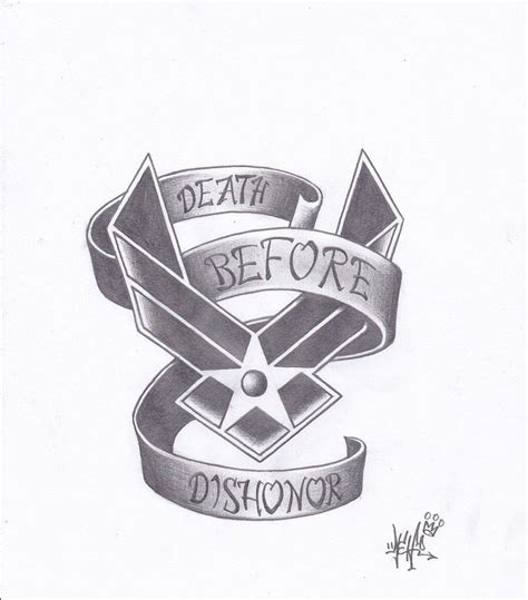 air force tattoos designs air air