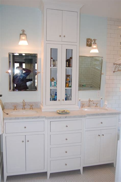 vanity tower cabinet vanity with tower bathroom ideas