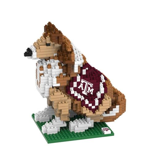 sports fan island coupon texas a m aggies ncaa 3d brxlz mascot puzzle building