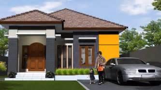 70 contoh desain rumah idaman cantik sederhana renovasi rumah net