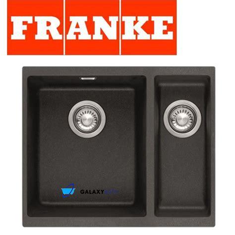 franke undermount kitchen sink franke sirius black onyx tectonite undermount 1 5 bowl