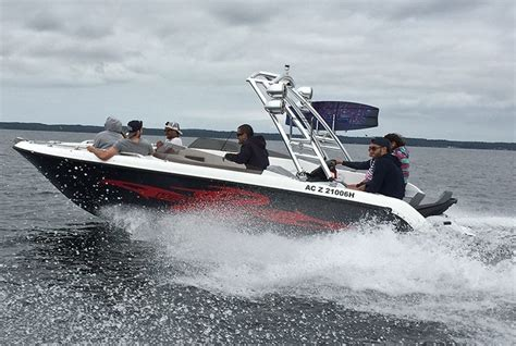 sealver wave boat combine recreational boating and water sports with the