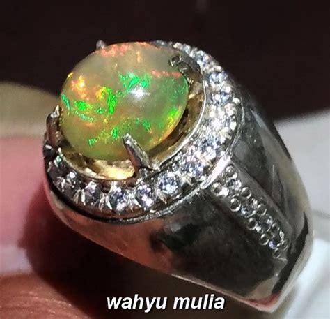 Kalimaya Jarong batu cincin kalimaya jarong asli kode 931