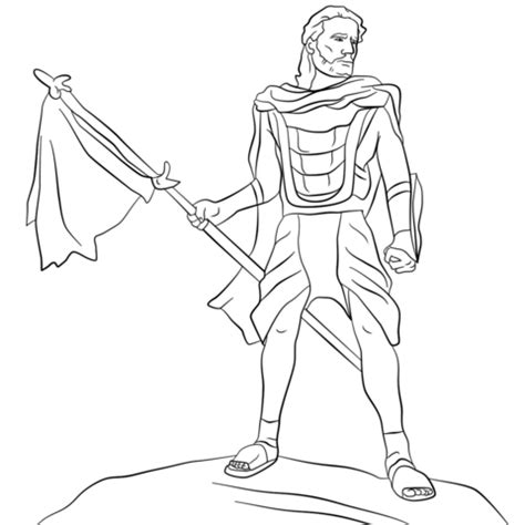 lds coloring pages samuel the lamanite july 2016 lds teach