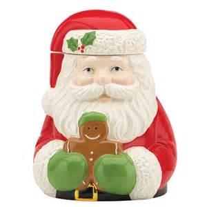 santa claus cookie jar holiday d 233 cor season charm