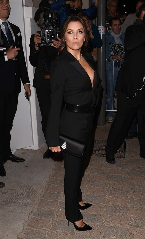 Longoria In Chanel by Longoria At Vanity Fair Chanel Dinner In Cannes 05 12
