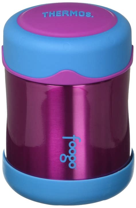 Foogo 77j082423 Food Jar Blue by Thermos Foogo Vacuum Insulated Stainless Steel