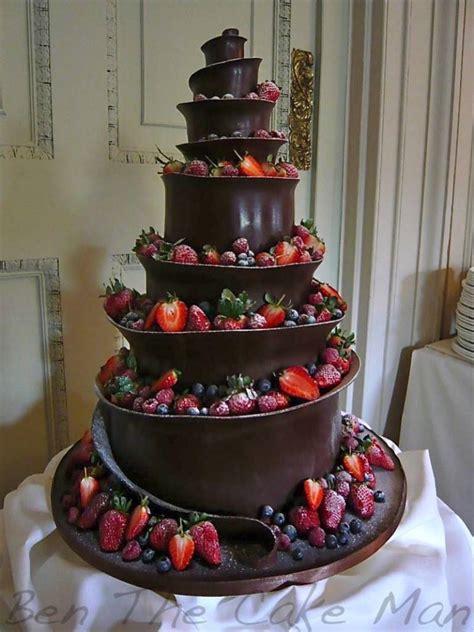 Hochzeitstorte Schokolade by Chocolate Ben The Cake