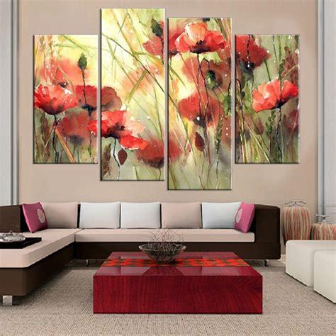 Dekorasi Dinding Rumah Kantor Lukisan Kanvas Modern Murah Ls 32174 lukisan bunga sederhana beli murah lukisan bunga sederhana lots from china lukisan bunga