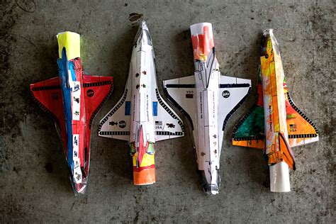 rocket themes rocket launcher these cool shuttle launchers from ashley ann cbell