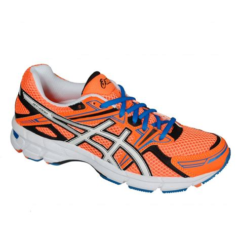 orange athletic shoes asics gt 1000 gs junior running shoes