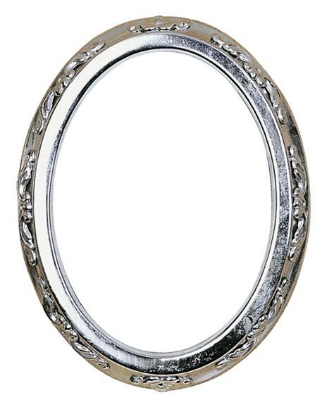 cornici acciaio cornice portafoto ovale in acciaio inox con applicazione