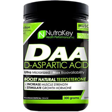 creatine d aspartic acid nutrakey d aspartic acid unflavored 300 grams