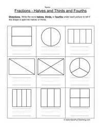 Half Problems Worksheet by Fractions Worksheets Fractions And Math Worksheets On