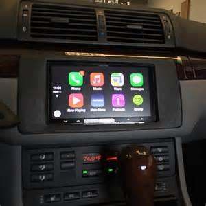 apple carplay bmw e46