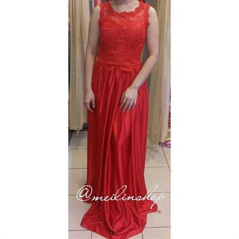 Midi Dress Gaun Pesta Baju Pesta Import D3913 4 5 Mf jual longdress satin gaun pesta panjang brokat baju pesta