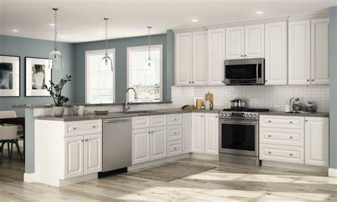 home depot white kitchen cabinets hallmark base cabinets in arctic white kitchen the home depot