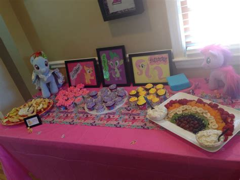 my pony table dessert table for my pony my projects