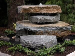 Rock Garden With Water Feature Best 10 Rock Ideas On