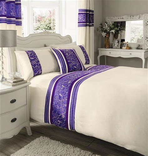 Superking Quilts by King Size Bedding New Purple Luxury Duvet