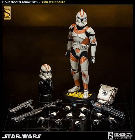 Wars Deluxe R2 D2 18 Inchi 45 Cm clone trooper deluxe 212th battalion exclusive sixth
