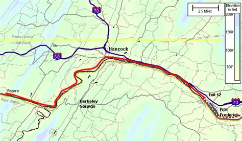 maryland bicycle map picture suggestion for western md