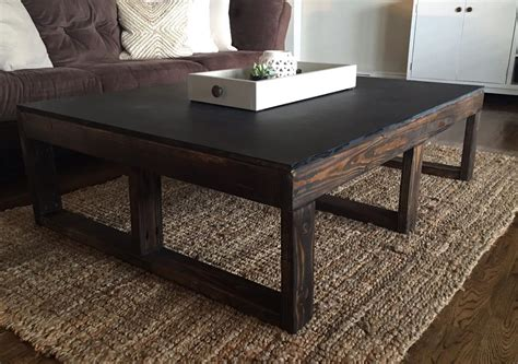 ana white multi functional coffee table play table diy