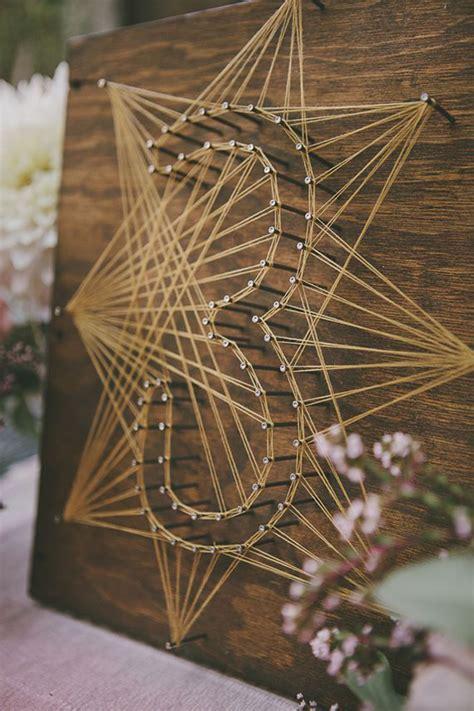 creative wedding ideas  super sweet diy string art