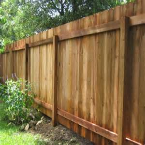 Types Of Wood Fences For Backyard by Pictures Of Fences Types Of Fences With Pictures