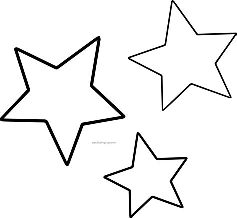 free coloring page of a star star coloring pages jacb me