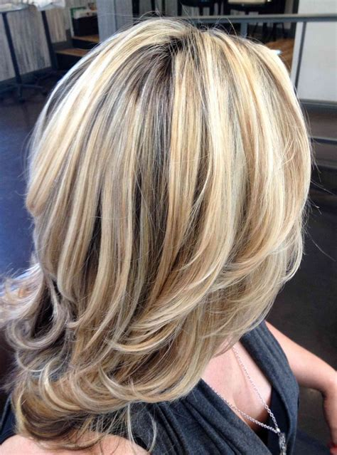 med hair woth gray n blonde astonishing highlights for short grey hair out gray