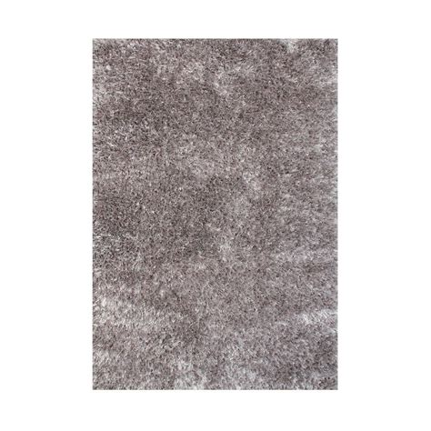 Gray Area Rug 5x8 Gray 5 Ft X 8 Ft Handmade Silk Shag Area Rug Ay593 5x8 The Home Depot