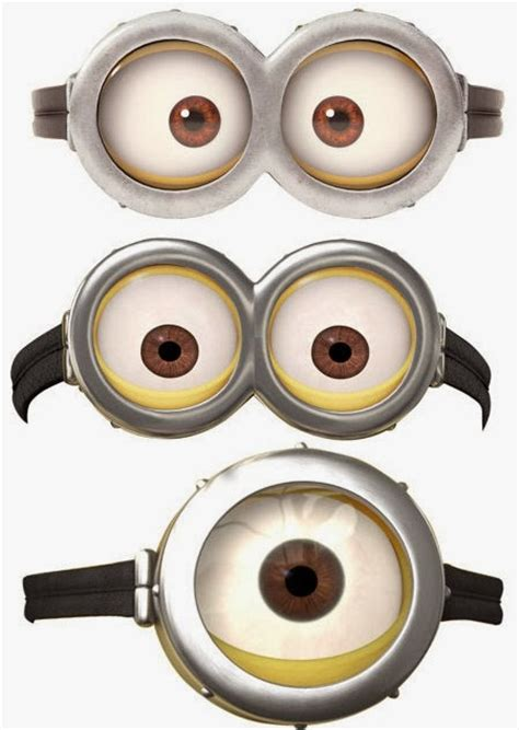 imagenes de minions ojos minions googles free printables is it for parties is