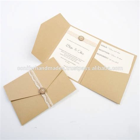 Pocketfold Wedding Invitations by Pocket Fold Wedding Invites Pocket Fold Wedding