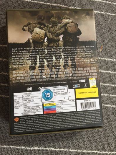 Band Of Brothers Dvd Box Set Collection Koleksi band of brothers box set for sale in drimnagh dublin from