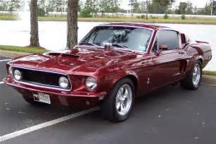68 Ford Mustang Fastback 1968 Ford Mustang Fastback 49781