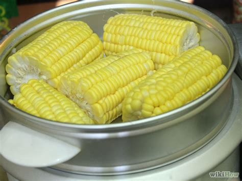 how to steam corn 10 easy steps with pictures wikihow
