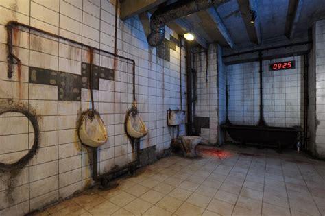 room 101 horror review saw alive horror maze at thorpe park theme park tourist