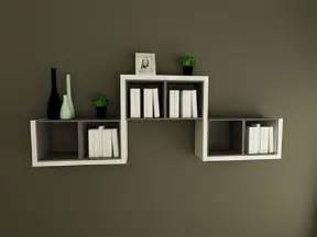 Wall Bookshelve Decorative Wall Mounted Book Shelves Design Corner