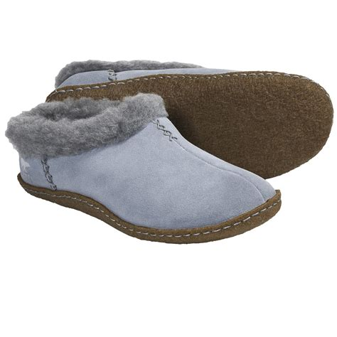 sorel slippers sorel nakiska slippers faux fleece lining for