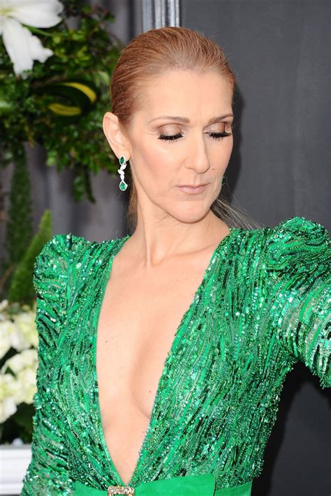 celine dion celine dion at 59th annual grammy awards in los angeles 02