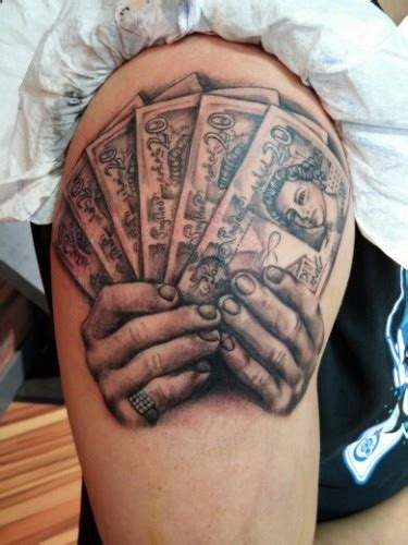 money tattoos 9 and beautiful money designs styles at